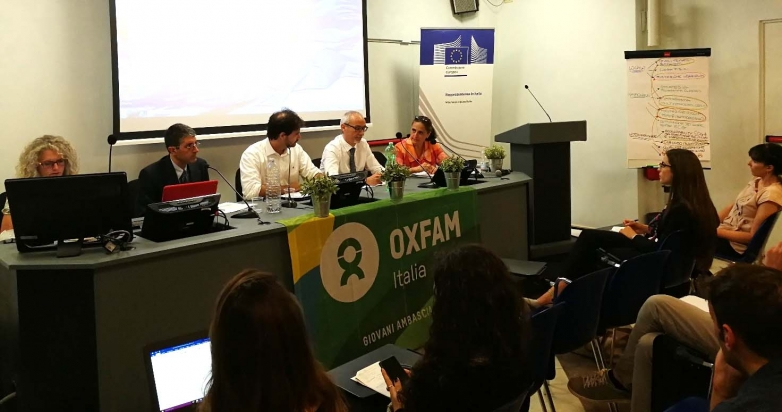 Oxfam Italy's National Multiplier Event