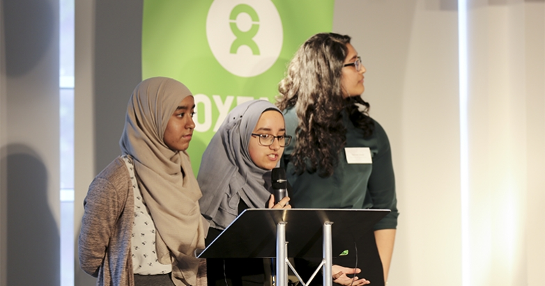 Oxfam GB shares Schools for Future Youth at the National Multiplier Event in the UK!