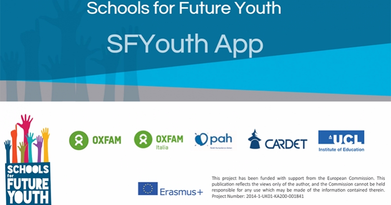 A walk through to SFYouth website